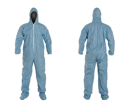 595a60be7f7b Tempro® Hooded Coverall with Boot. Burn-resistant hooded coverall with  integrated boot. Attached hood with elastic ...